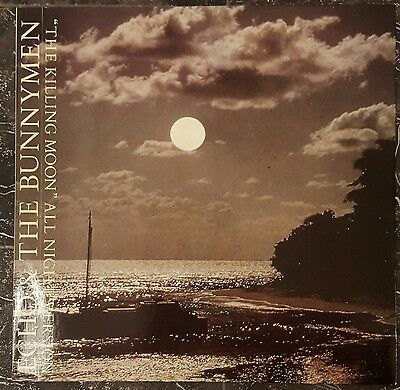 """ECHO AND THE BUNNYMEN ~ The Killing Moon ~ 12"""" Single PS Ex.Cond FREE POST"""