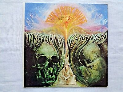 VINTAGE ART Moody blues in search of the lost chord Album +