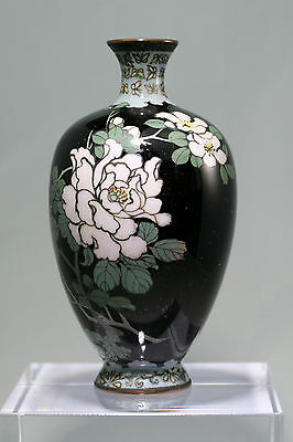 A Fine Small Antique Japanese cloisonne vase