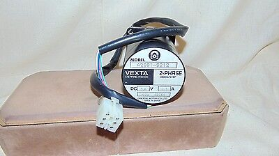 Vexta Stepping Motor Model A2991-9212 2-Phase 1.8Deg/Step Dc 5.4V 1.5A Vz6 42358
