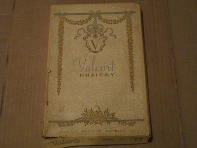 Vintage 1930's 1940's Valcort Hosiery Box - Nice Collectible Great Design