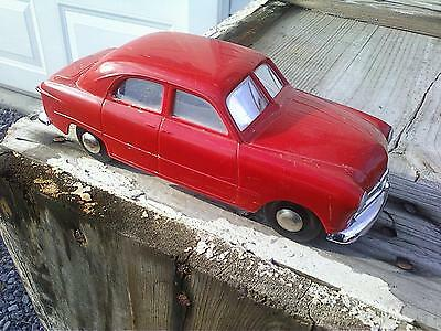 1949 Ford Promo Model Red Windup