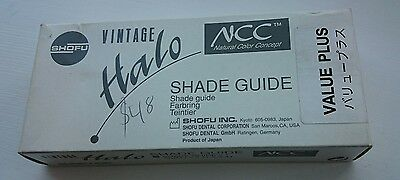 Shofu Vintage Halo NCC shade guide value plus dental lab FREE shipping
