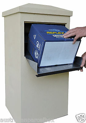 Parcel Letterbox Mail Drop Box Mailbox Post Parcelbox Pier Pillar Secure