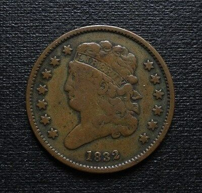 1832 Classic Head Half Cent  ~  Only 51,000 Minted!