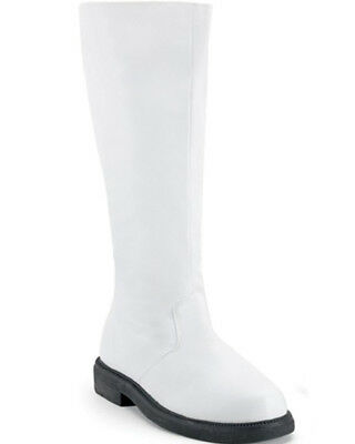 White Captain Mens Boot