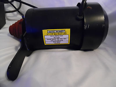 "Lathe Motor for 10"" X 18"" Mini Wood Lathe"