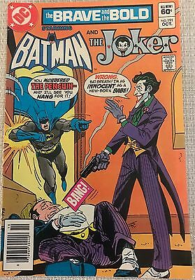 Brave And The Bold #191 Batman The JOKER COVER 1982 Penguin Appearance