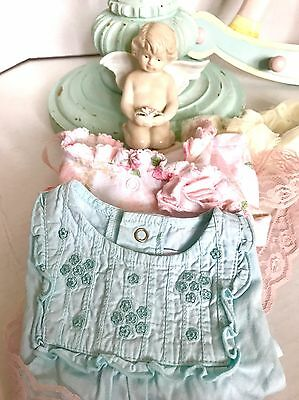 Baby Girl 0-3 Months Spring/ Summer Clothes Lot Of 2