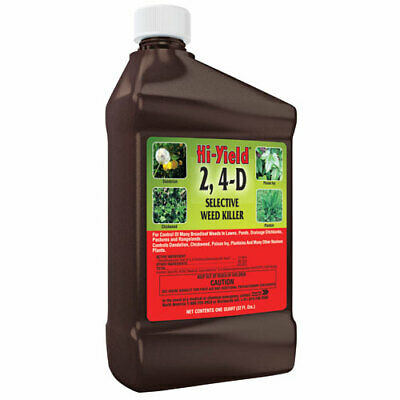 Hi-Yield 21415 32 Oz. 2, 4-D Concentrated Weed Killer