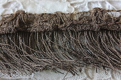 "Antique French 18thC Gold Metallic Braid Passementerie~Handmade~~30 1/2""L X 2""W"
