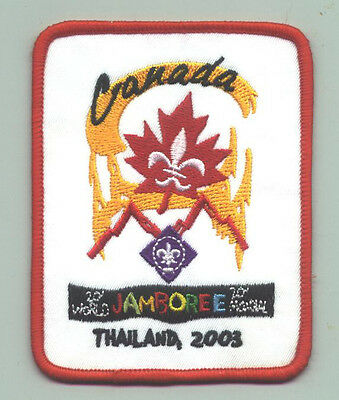 2003 World Scout Jamboree CANADA / CANADIAN SCOUTS Contingent Patch