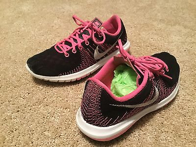 Nike Flex Fury Kids Athletic Shoes Girl's Size 3.5M Multicolor Synthetic