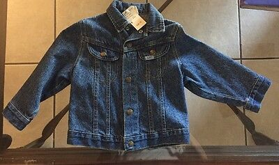 Vintage Kids Lee Jacket Small 4-5 Made In USA . New Old Stock