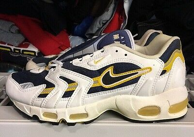 NIKE AIR MAX 96 Navy Yellow Ds 9 Og Vintage -  150.00  fefc4da0f