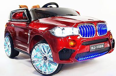 BMW X5 Style For Kids Model BJ1588 Ride On Car With Remote Control Red