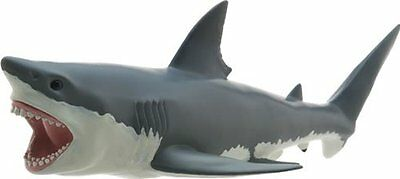 Figure Great white shark-plastic model FREE SHIPPING SB