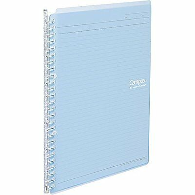 Stationery Kokuyo Campus Smart Ring Binder - B5 - 26 Rings - Light Blue F/S SB