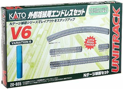 Plastic_model_Toy Kato 20-865 V6 Outer Oval Variation Pack Free Shipping SB