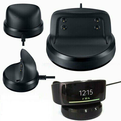 Charging Cradle Dock Charger Station for Samsung Gear Fit2 SM-R360 Smart Watch