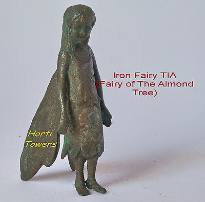 The Iron Fairies TIA (New Bag) Fairy of The Almond Tree + 2x FREE Finger Puppets