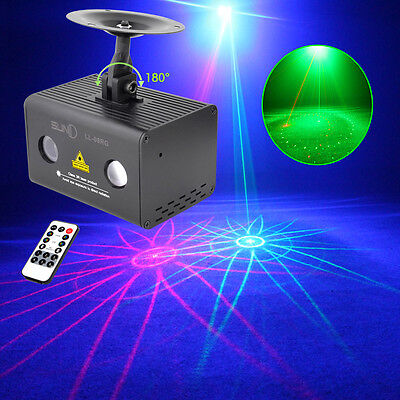 RGB LED Party Light Projector DJ Disco Stage Light Christmas Party Lighting