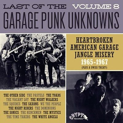 LAST OF THE GARAGE PUNK UNKNOWNS Vol 8 vinyl LP NEW Sonics We The People Toads