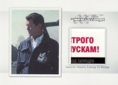 James Bond 2016 Archives Spectre Edition MR6 Russian Atomic ID Badge Relic Card