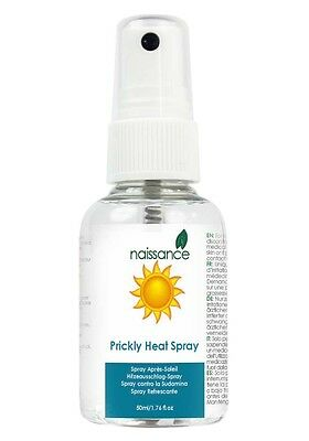 Prickly Heat and Heat Rash Spray 50ml by Naissance