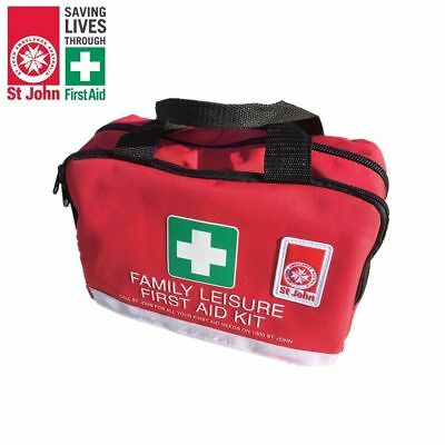 St John Family Leisure First Aid Kit - 135 piece - OHS/WHS Recognised