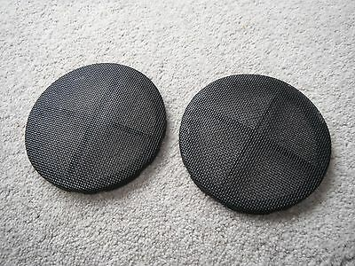 Vw Corrado 92 On Pair Front Door Speaker Grills Black Left+Right Vr6 G60 16V 8V