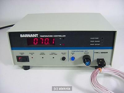 Barnant 621-8600 Programmable Digital Temperature Controller Incl. Type J sensor