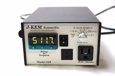 J-KEM Model 210 Compact Temperature Controller USB to Computer