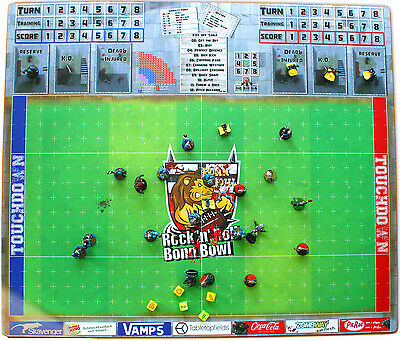 Fantasy Football Feld / Field / Pitch | *2016* EDITON for example Blood Bowl