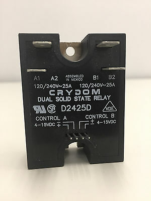 Crydom D2425D Dual Solid State Relay SSR New