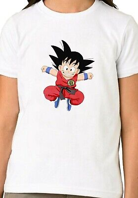 Japanese Anime Manga Dragon Ball Goku T-shirt Unisex Boys Girls Kids Gift 1610