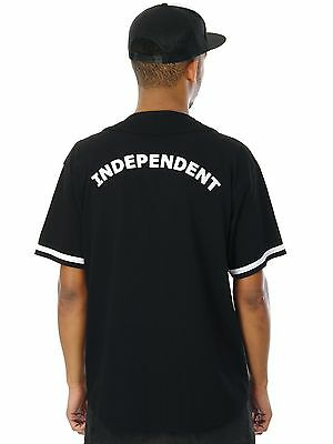 Independent Black Stat Baseball Jersey