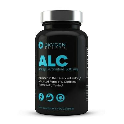 ALC Acetil L-carnitina 60 cápsulas - Okygen Sports - Carnitine