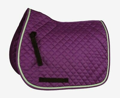 NEW Shires Wessex Contrast Horse Pony Saddlecloth Square Pad - Brightly Coloured