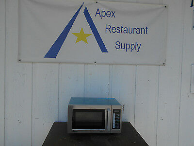Amana RMS10TS Stainless Steel Commercial Microwave Oven #2094