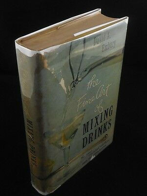 THE FINE ART OF MIXING DRINKS, by David A. Embury - 1958 [3rd Edition] Recipes