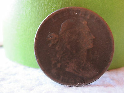 1798 Draped Bust Large Cent Second Hairstyle Rotated Die (2nd Hairstyle 1C)