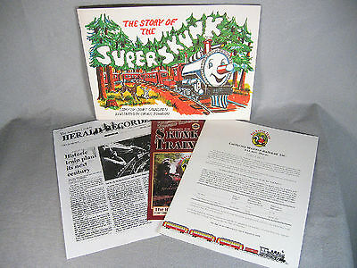 The Story of the SUPER SKUNK TRAIN plus additional material