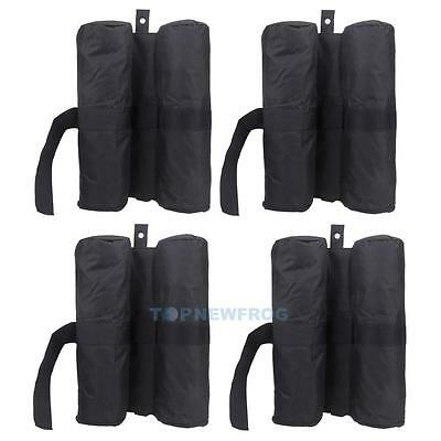 4pcs Leg Weights for Pop up Canopy Tent Weighted Feet Bag Sand Bag Beach Camping