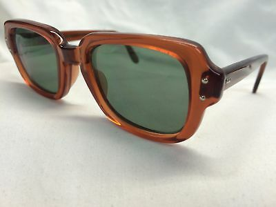 GI Sunglasses Vintage BCG Military USA Authentic New Old Stock UV400 G15 Green