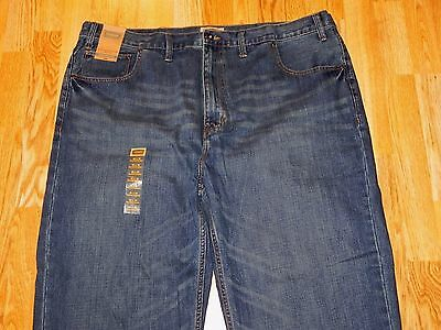 Nwt Foundry Relaxed Straight Blue Jeans Men's Size 46 X 30 - Msrp - $50.00