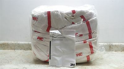 3M 4565-BLK-XXL 25 Pk Size 2XL White/Red Hooded Disposable Coveralls