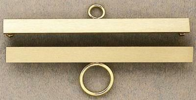 Permin Accessory - Brass Bar Hanger Set - 12cm