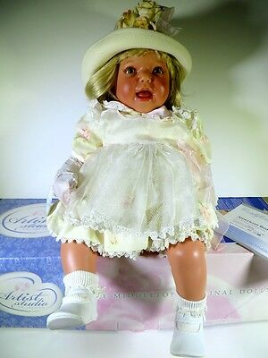 """Boxed Lee Middleton Doll By Reva Schick American Beauty 00462 21"""""""