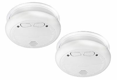 Konig Double Pack Wireless Inter-Connectable Smoke Alarm/Detectors 433Mhz